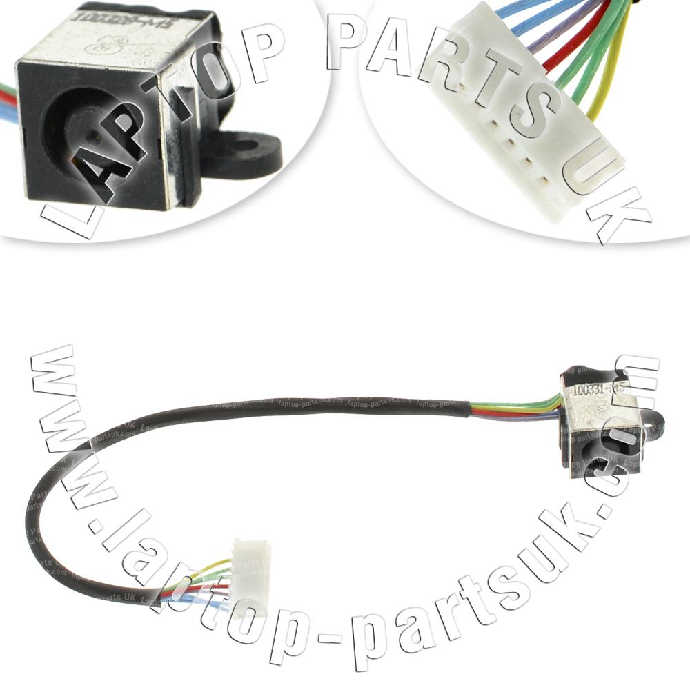 DELL Inspiron 17R N7110 DC Port Power Connector Socket Jack Cable ...